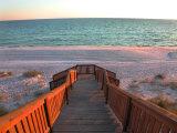 Boardwalk Leading to Shore