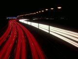 Light Streaks on M25  UK