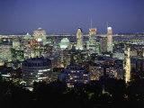 City Skyline  Montreal  Quebec  Canada