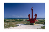 Red Anchor  Lost Seaman Memorial  Aruba