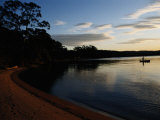 Estuary Near Eden  New South Wales