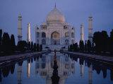 Taj Mahal at Sunrise  Agra  India