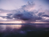 A Morning Squall Produces Rainfall over the Water