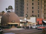 World Famous Brown Derby Restaurant on Wilshire Boulevard