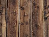 Wood-Paneled Wall