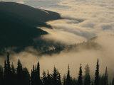 Fog Nestling Among the Peaks of the Bitterroot Range
