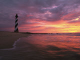 The 198-Foot Tall Lighthouse on Cape Hatteras