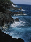 A Coastal View of the Southeast Corner of Hawaii
