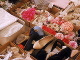 Flowers  Shoes and Other Accessories at Dior's Studio