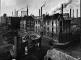 Bomb Damaged Buildings in the Shadow of the Thyssen Steel Mill