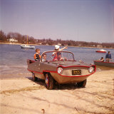 German Made Amphicar  a Car That Drives on Water