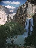 Havasu Waterfall in Grand Canyon National Park
