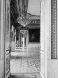 Interior of the Ballroom Inside the Presidential Palace  the Zamek