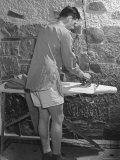 GI Ironing His Pants