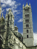 Facade  Dome and Bell Tower of Duomo Santa Maria Del Fiore  Florence