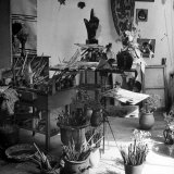 Painter Georges Braque's Studio