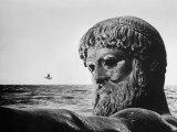 Bronze Statue of Poseidon  Greek God of the Sea