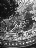 Detail of a Mural Decorating the Entire Ceiling of the Paris Opera House Created by Jules Lenepveu