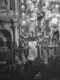 Interior View of St Peter's Church During Mother Cabrini's Canonization