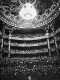 Auditorium of the Paris Opera House