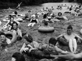 Inner Tube Floating Party on the Apple River