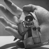 Micro Camera Resting in Palm of Hand