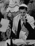 Carl Jay Bodek with Rabbi David S Novoseller Reciting from the Prayer Book
