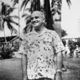 President Harry S Truman  Arriving in Key West Wearing Hawaiian Shirt