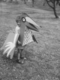 Bird Toy Made to Wear For Children by Charles Eames