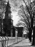 Bruton Parish Church Aluminium par Alfred Eisenstaedt