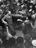 Hasidim Dance Ecstatically on Lag B'Omer Day