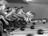 Boys Competing in Junior League Bowling Game