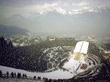 Opening Ceremonies of the 1964 Winter Olympics in Bergisel Stadium