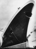 Launching of the Queen Elizabeth II Oceanliner