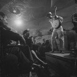 "Calypso Singer Known as ""Pork Chop"" Performing at a Nightclub"