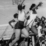 Women Racing in the Pan Am Games