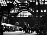 Interior View of Penn Station