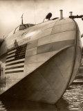 Pan Am Clipper Seaplane Papier Photo par George Strock
