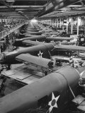 Men Working on Consolidated Aircrafts