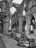 The Ruins of Tintern Abbey  a Cistercian 13th Century Church