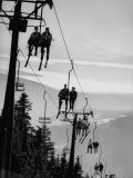 Ski Lift on Mt Hood