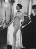 Molyneux's See Thru Jersey Evening Dress