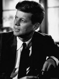 Senator John F Kennedy  Posing For Picture