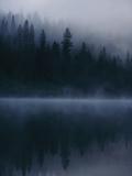 Scenic View Near Mount Shasta Reproduction d'art par Michael Nichols