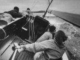 Sailing Class at Yacht Club on Long Island Sound