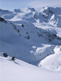 Skiing in the Selkirk Range  British Columbia  Canada