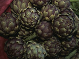 Artichokes at a Market in Provence