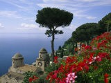 Scenic View of Villa Rufolo Terrace Gardens and Wagner Terrace