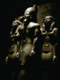 Statue of Pharaoh Menkaura  Found at Giza