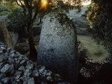 The 8th Century Conical Tower and Stone Enclosure Ruins  Great Zimbabwe Ruins